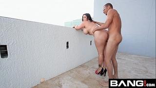 Bang.com: large arse booties take 2