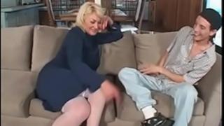 Milf fucks stepson