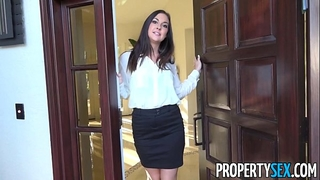 Propertysex - concupiscent real estate agent busted watching porn