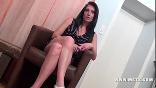 French milf floozy cristale make a casting to have her first porn experience!sexy!! - 28 min