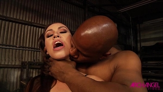Black stud anally pounds a hotties backdoor precious